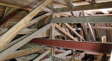 Statik zum Anfassen. Alter Dachstuhl